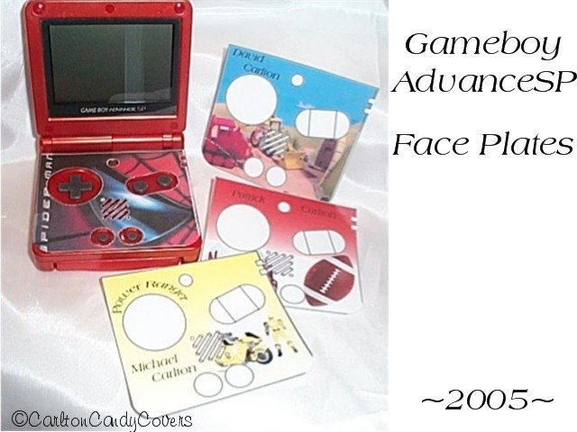 Game Boy Face plates