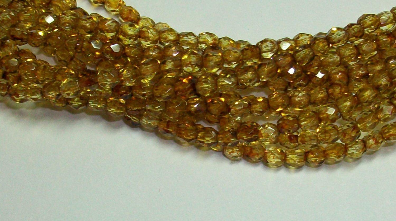 Crystal Copper Firepolish 3mm (11)