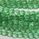 Chrysolite Firepolish 4mm