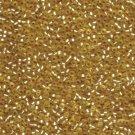 Semi Matte Silver Lined Gold 11-91902