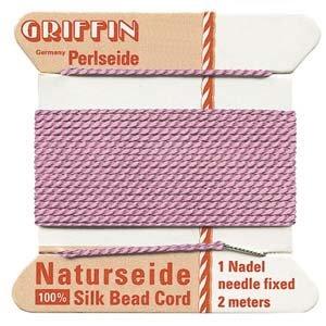 Silk Dark Pink #8 - 0.80mm