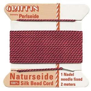 Silk Garnet Red #4 - 0.60mm