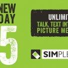 Simple Mobile $25.00 plan