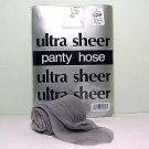 Silver Grey Ultra Sheer Regular Size Pantyhose 706R