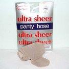 Oatmeal Ultra Sheer Queen Size Pantyhose 711Q