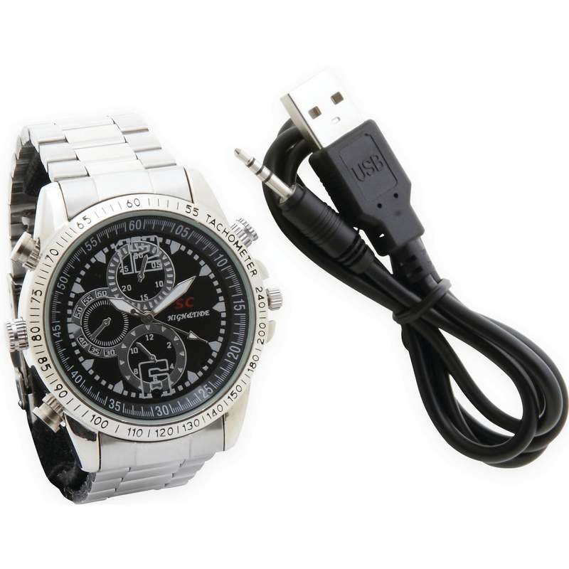 Mitaki-Japan Video/Camera Watch with USB Cable and User Manual