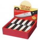 Slitzer 48pc Stainless Steel Jumbo Steak Knives in Countertop Display