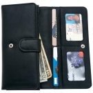 Embassy Ladies Leather Wallet with Multiple Slots and Compartments