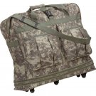 Extreme Pak Digital Camouflage Expandable Bag with Five Wheels