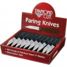 Diamond Cut 60pc Serrated Paring Knives in Countertop Display