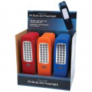 Mitaki-Japan 12pc 24-Bulb LED Flashlights in Countertop Display
