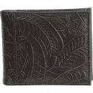 Casual Outfitters Black Leather Men's Wallet with Multiple Slots