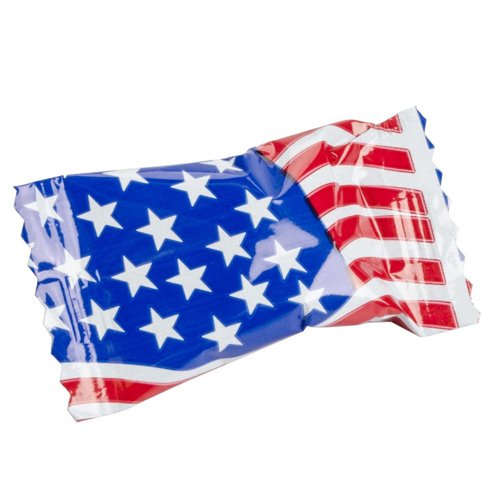 "Flag"" Buttermints Individually Wrapped (Case of 1000)"