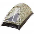 Maxam Digital Camouflage Water-Resistant Extra-Long 1-Person Tent