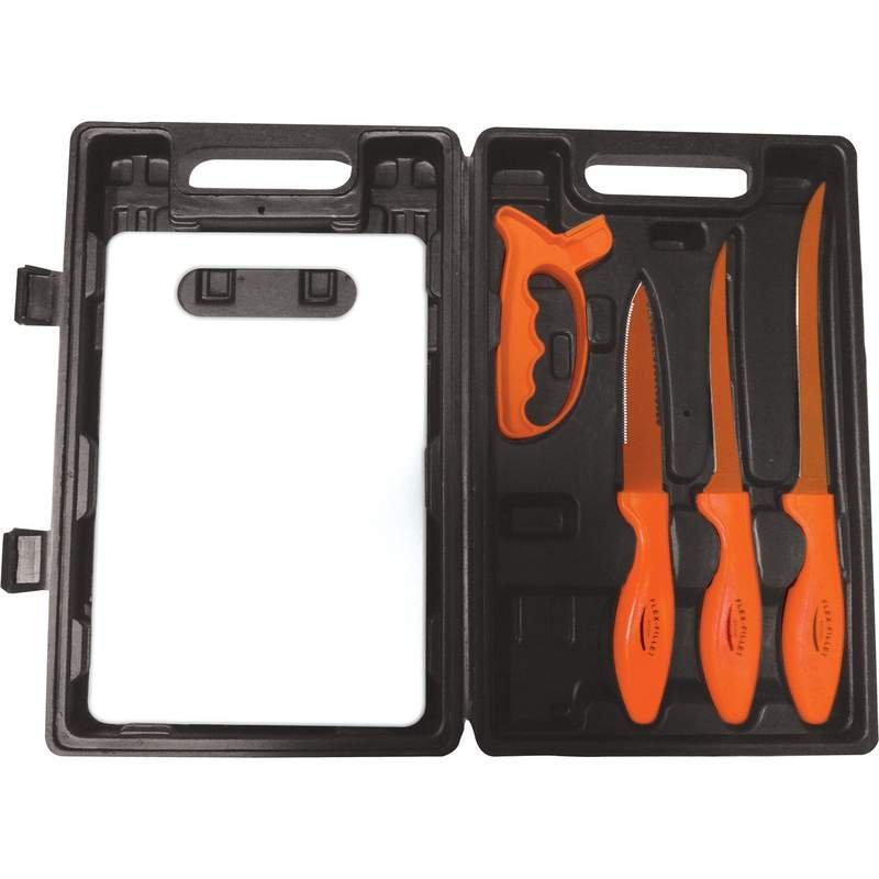6pc Flex Fillet Brand Fish Fillet Set Features Laymar Handles