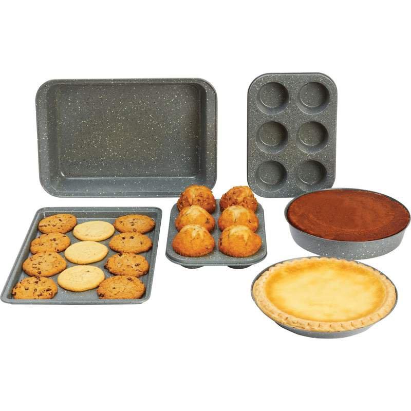 Chef's Secret 6pc Non-Stick Carbon Steel Bakeware Set