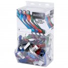 Maxam 100pc Aluminum Bottle Opener Keychains in Countertop Display