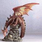 29564 Alabastrite Dragon On Rock