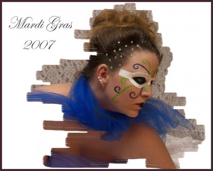 Mardi Gras 2007 16x20