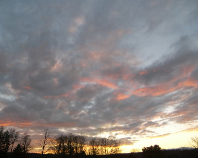 Sunset on the Mountain 16x20