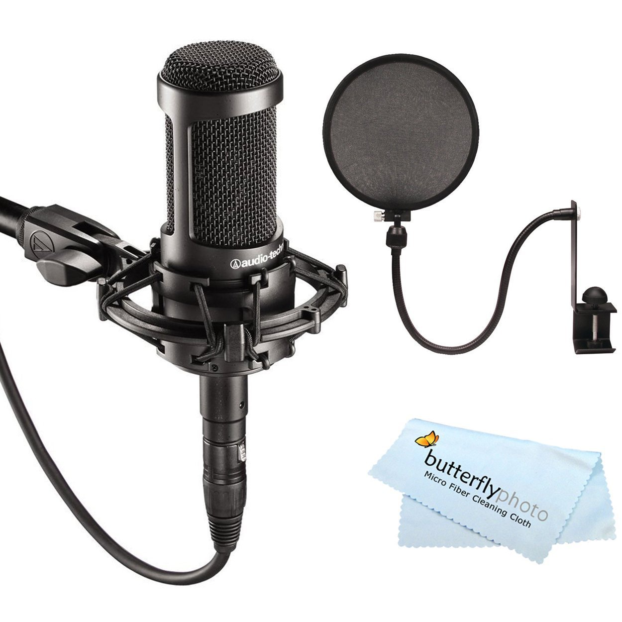 Audio-Technica AT2035 Large with Pop filter ...