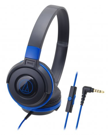 audio-technica Portable Headphone for smartphone ATH-S100iS BBL Black-Blue