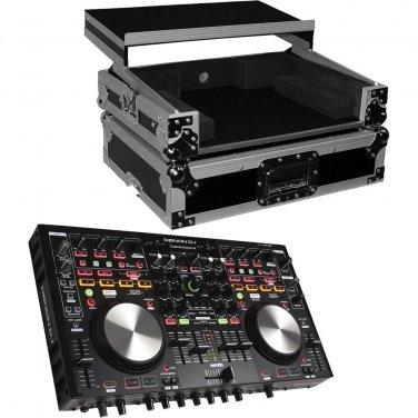 Denon DNMC6000MK2 Professional Digital Mixer and Controller. With ProX Flight Case For MC6000MK2.