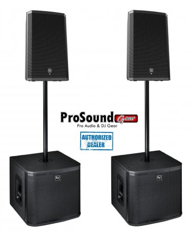 "Electro-Voice ZLX-12P 12"" 2-Way (Pair) ZXA1-Sub Subwoofer / (Pair)"