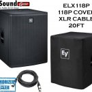 Electro-Voice ELX118P Powered 18-inch + Free Ev Cover and XLR 15ft cable