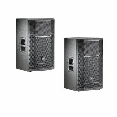 """JBL PRX715 PAIR Active DJ/Club 1500W Powered 15"""" Speaker"""