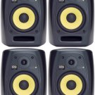 "(4) Brand New KRK VXT-8 8"" VXT Series Monitor Speakers with 8"" Woven Kevlar Woofer"