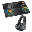 Native Instruments Kontrol S5 DJ Controller. With Free Audio Technica ATH-M30x.