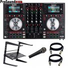Numark NV DJ Controller Free laptop Stand, 2 XLR Cable and novik fnk5 mic