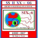 eBook (PDF) SIX - DROID VOLLEYBALL PLAY BOOK