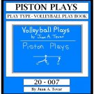 eBook (PDF)  EB-20-007 PISTON Volleyball Plays