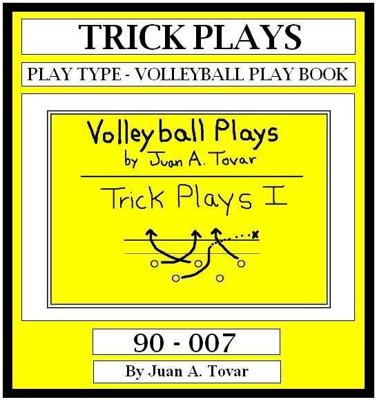eBook (PDF) EB-90-007 TRICK PLAYS Volleyball Plays