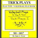 eBook (PDF) EB-90-007 TRICK PLAYS Volleyball Plays