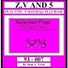 eBook (PDF) EB-93-007 Z,V AND 5 Volleyball Plays