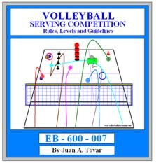 eBook (PDF) Volleyball Serving Competition E-book