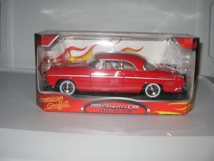 Motormax 1:24 Die Cast Red 1955 Chrysler C300