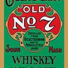 Metal Sign - Jack Daniels - Green