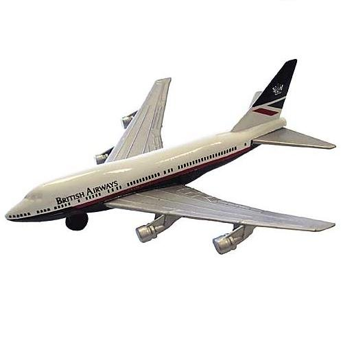 "British Airways 747 (4.5"") Diecast Model"