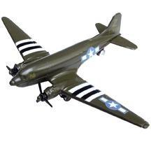 "C-47 Green 3.5"" Diecast Model"
