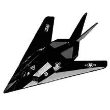 "F-117A Stealth Fighter 4.5"" Diecast Model"