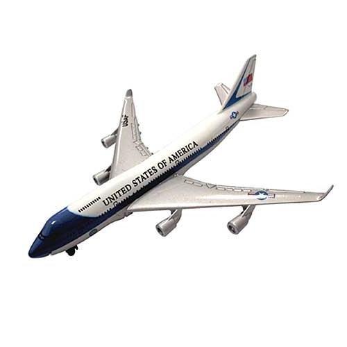 In Air Air Force One 747 (1:100)