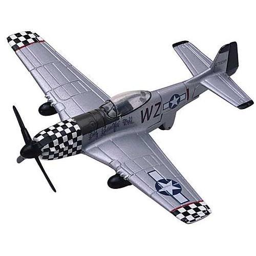In Air P-51 Mustang (1:100)