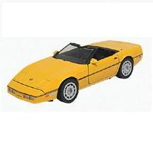 Motormax 1986 Corvette (1:24), Yellow