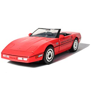 Greenlight Collectibles 1986 Red Corvette Indy 500 1/24 Pace Car Pace Car Garage Series
