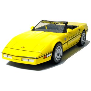 GreenLight Collectibles 1986 Yellow Corvettndy 500 1/24 Pace Car Pace Car Garage Series
