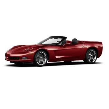 Mattel 2005 Red C6 Convertible 1/12 Corvette